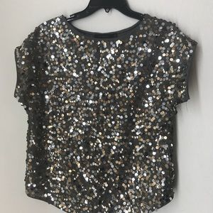 The Limited Top sequins size Small
